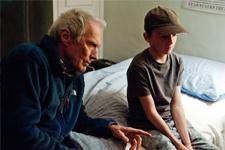 Clint Eastwood lors du tournage d'Au-delà