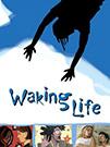 illustration de film Waking life