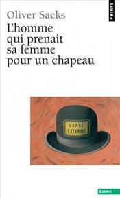 illustration de livre L'homme qui prenait sa femme pour un chapeau