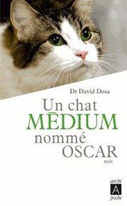 illustration de livre Un chat médium nommé Oscar