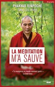 illustration de livre La méditation m'a sauvé