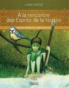 illustration de livre A la rencontre des esprits de la nature