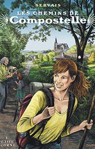 illustration de livre Bande Dessinée Les chemins de Compostelle