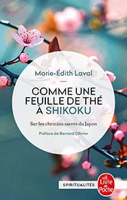 illustration de livre Comme une feuille de thé à Shikoku