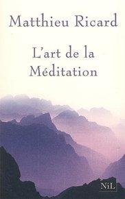 illustration de livre L'art de la méditation