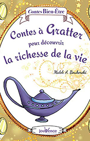 illustration de livre Contes à gratter pour découvrir la richesse de la vie