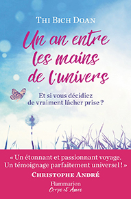 illustration de livre Un an entre les mains de l'univers