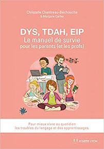illustration de livre DYS, TDAH, EIP