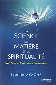 illustration de livre La science, la matière, et la spiritualité
