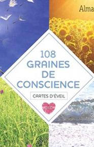 illustration de livre 108 graines de conscience