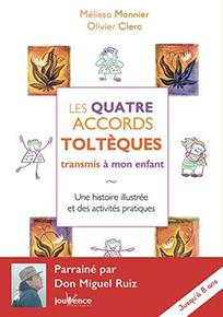 illustration de livre Les Quatre Accords Tolteques Transmis a Mon Enfant