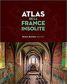 illustration de livre Atlas de la France insolite