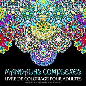 illustration de livre Mandalas Complexes
