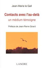 illustration de livre Contacts avec l'au-delà : Un médium témoigne