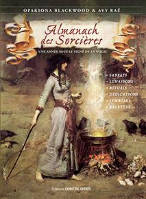 illustration de livre Almanach des sorcières 2018/2019
