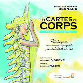 illustration de livre Les cartes du corps