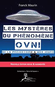 illustration de livre Les mystères du phénomène ovni