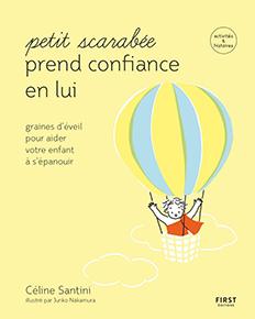 illustration de livre Petit scarabée prend confiance en lui