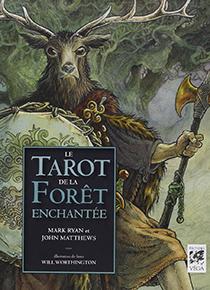 illustration de livre Le Tarot de la forêt enchantée