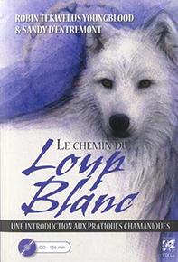 illustration de livre Le chemin du loup blanc