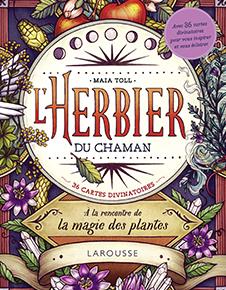 illustration de livre L'herbier du chaman