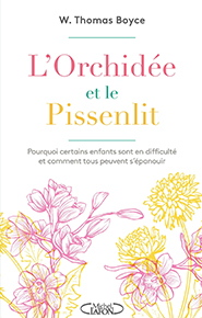 illustration de livre L'orchidée et le pissenlit