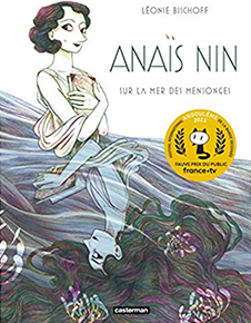 illustration de livre Anaïs Nin