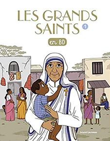 illustration de livre Les grands saints en BD