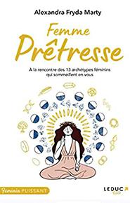 illustration de livre Femme prêtresse