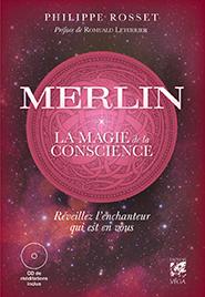 illustration de livre Merlin, la magie de la conscience