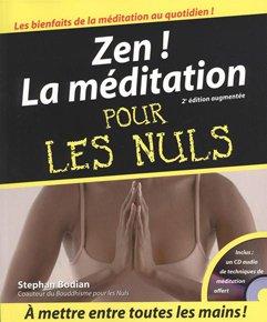illustration de livre Zen ! La méditation pour les Nuls