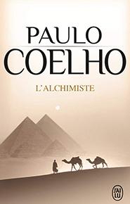 illustration de livre L'Alchimiste