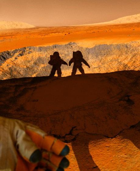 Les hommes restent à Terre, les robots découvrent Mars