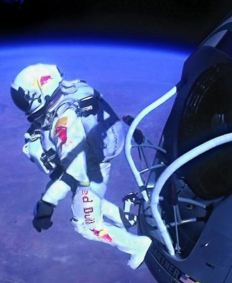 Revenir à pied de l'espace...