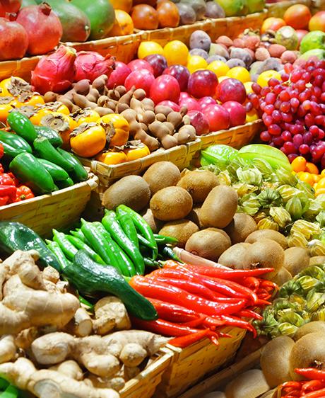 Des fruits et des légumes pour notre bien-être