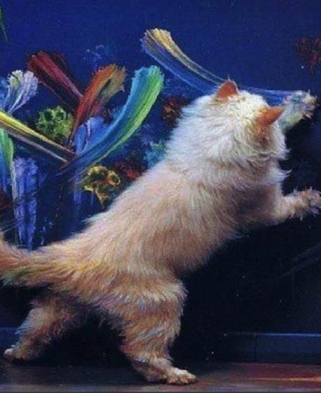 Quand les animaux font de l'art
