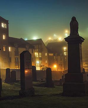 La ville préférée des fantômes