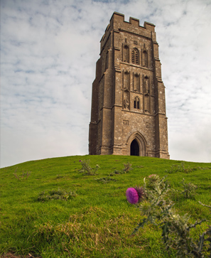 Glastonbury Tor, la porte sur la colline