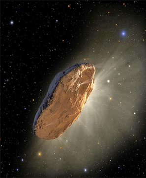 Oumuamua, vaisseau extraterrestre ?