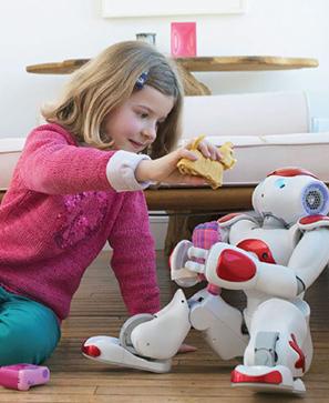 Le robot et l'enfant