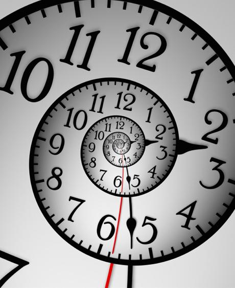 Le temps fait sa révolution