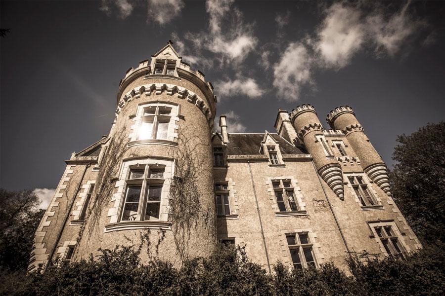 logo Le Château de Fougeret partenaire avec l'INREES