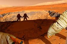 illustration de l'article Les hommes restent à Terre, les robots découvrent Mars