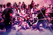 illustration de l'article Hip hop : cœur de la rue, esprit des peuples